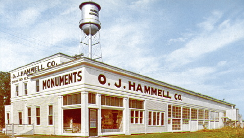 OJ Hammell Office and Factory as they appeared in the 1960s.